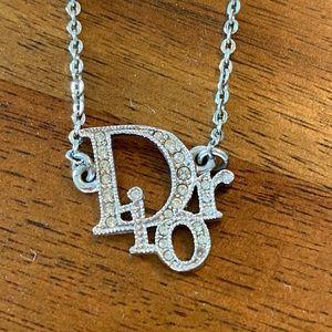Silver Dior Necklace